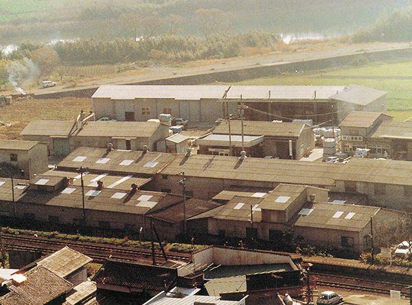 1983年当時の太洋化成工業本社工場